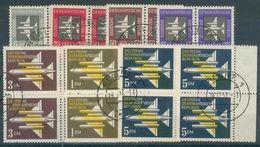 DDR Lot Mit 6x 4er Blöcken Aus Mi.-Nr.609/15o (MICHEL EURO 32,00) ; Feinst/pracht - Usati