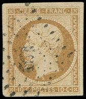 PRESIDENCE - 9    10c. Bistre-jaune, Oblitéré PC 192, TB - 1852 Louis-Napoleon