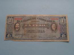 UN Peso 1 ( 2901852 ) Serie A - Militar 1914 ( For Grade, Please See Photo ) ! - Mexico