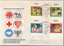 Postal History: Germany Full Set On Cover - Fairy Tales, Popular Stories & Legends