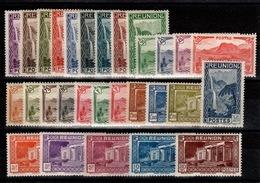 Reunion - YV 125 à 148 N* (legere) Complète - Reunion Island (1852-1975)