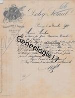 02 0560 PROISY AISNE 1894 Brasserie A Vapeur DOHY - SEMAL A MOULIN - 1800 – 1899