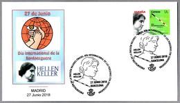 DIA INTERNACIONAL DE LA SORDOCEGUERA - HELLEN KELLER. Barcelona 2018 - Handicap