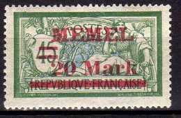 Memel 1921 Mi 39 II * [260819VII] - Memelgebiet