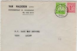 Poststempel  BUGGENHOUT 1 E 1  - Op Opc.nr - Marcofilia