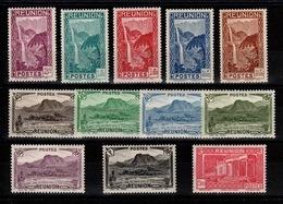 Reunion - YV 163 à 174 N* (legere) Complete - Reunion Island (1852-1975)