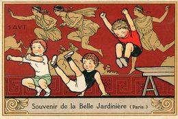 ATHLETISME(PUBLICITE BELLE JARDINIERE) - Leichtathletik