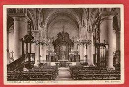 COURTENAY - L'Intérieur De L'Eglise - 1943 - - Courtenay