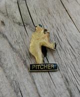Pin's / Pins / Beau Et Rare / Thème : Sports / Baseball / PITCHER (Lanceur) - Baseball