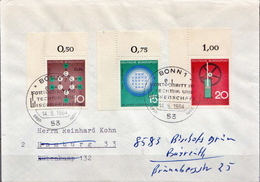 Postal History: Germany Full Set On Cover - Sciences