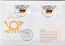 Postal History: Germany Full Set On Cover - History