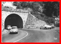 CPSM/gf (73) SAVOIE.  Entrée Du Tunnel Du Mont Du Chat. Voiture DS Et ID Citroën....S1680 - France