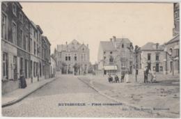 28665g  PLACE COMMUNALE - 1907  -  Ruysbroeck - Ruisbroek - Zonder Classificatie