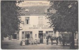 28672g ESTAMINET - CAFE - RESTAURANT - AU CHER AMI - VANHAELEN - 1910 - Droogenbosch - Drogenbos - Drogenbos