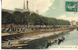 CpA  AMIENS Les Hortillonnages Très Animée - Amiens