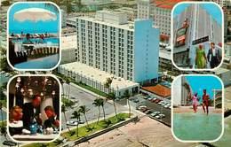 Etats-Unis - Florida - Miami Beach - On The Ocean 2201 Collins Avenue - Semi Moderne Grand Format - état - Miami Beach
