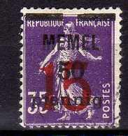 Memel 1921 Mi 48, Gestempelt [260819VII] - Memelgebiet