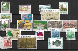FOR008 - CINA FORMOSA - SPEZZATURE FRANCOBOLLI NUOVI E USATI - 1945-... República De China