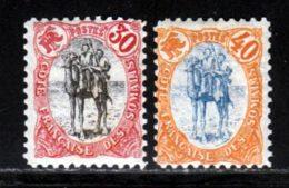 Cote Des Somalis 1902 Yvert 46 / 47 * TB Charniere(s) - Ungebraucht