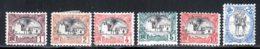 Cote Des Somalis 1903 Yvert 53 / 57 - 60 (*) TB Neuf Sans Gomme - Ungebraucht