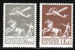 Danemark PA 1925 Yvert 4 / 5 * TB Charniere(s) - Airmail