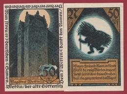 Allemagne 1 Notgeld  50  Pfenning  Stadt Wettin  (RARE) Dans L 'état N °4585 - Verzamelingen
