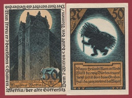 Allemagne 1 Notgeld  50  Pfenning  Stadt Wettin  (RARE) Dans L 'état N °4586 - Verzamelingen