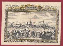Allemagne 1 Notgeld  75  Pfenning  Stadt Naumburg  (RARE) Dans L 'état N °4589 - [ 3] 1918-1933 : República De Weimar