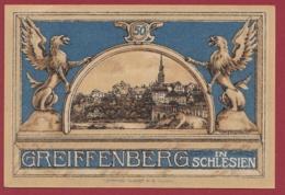 Allemagne 1 Notgeld  50 Pfenning  Stadt  Greiffenberg (Pologne---Gryfow) (RARE) Dans L 'état N °4602 - Verzamelingen