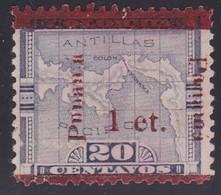 Panama, Scott #181b, Used?, Map Surcharged - Panama