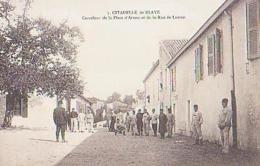 Gironde        1045          Citadelle De Blaye.Carrefour De La Place D'armes Et De La Rue DeLutzen - Blaye