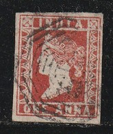 INDE ANGLAISE - N°3 Obl (1854) Victoria - India (...-1947)