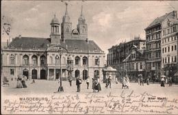 ! Alte Ansichtskarte Aus Magdeburg, Alter Markt, 1904 - Magdeburg