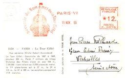 Tour Eiffel - Carte - Monuments