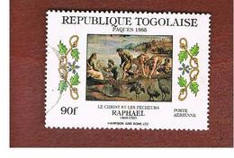 TOGO  - SG 1790  -   1985  EASTER: RAFFAELLO (CHRIST & FISHERMEN)    - USED ° - Togo (1960-...)