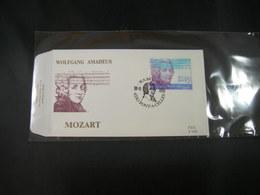 "BELG.1991 2438 FDC ( Pont A Celles) : ""  Wolfgang Amadeus Mozart (1756-1791) "" - 1991-00"