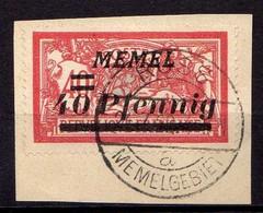 Memel 1922 Mi 60, Gestempelt [260819VII] - Memelgebiet