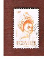 TOGO  -   MI 2842  -   1999  PERSONALITIES: BELLA  BELLOW   - USED ° - Togo (1960-...)