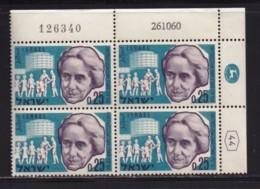 ISRAEL, 1960, Cylinder Blocks Without Tabs Of Mint Stamps, Henrietta Szold, SG196, X1024 - Blokken & Velletjes