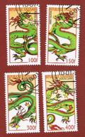 TOGO  -   MI 2985.2987  -   2000  DRAGON YEAR       - USED ° - Togo (1960-...)