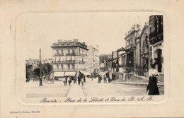 BIARRITZ - Place De La Liberté Et Gare Du BAB - Jerome Editions - écrite 1920 - Tbe - Biarritz