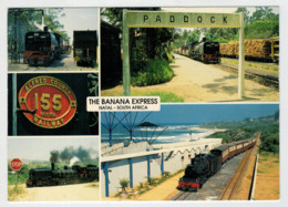 SOUTH-AFRICA   TRAIN- ZUG- TREIN-TRENI- GARE- BAHNHOF- STATION- STAZIONI   2 SCAN  (NUOVA) - Trains