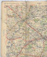 Carte Géographique MICHELIN - N° 064 ANGERS - ORLEANS N° 2650-211 (sur Toile Sans Couverture) - Cartes Routières