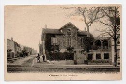 - CPA CLAMART (92) - Rue Condorcet 1910 - Edition J. Hano - - Clamart
