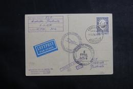 DANEMARK - Carte Postale De Copenhague  Par 1er Vol Amsterdam / Guatemala En 1976 - L 41194 - Cartas