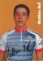 CYCLISME: CYCLISTE MATTHIAS HELL - Ciclismo