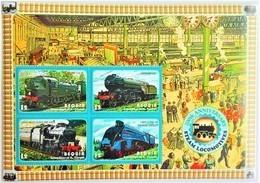 Bequia 2004**Mi.416-19  200th Anniversary Of Steam Locomotives , MNH [5;32] - Eisenbahnen