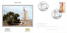 France  2019 FDC : Les Phares : Phare Du Pilier. Obliteration Du 1er Jour 02/08/2019 Paris. - 2010-....
