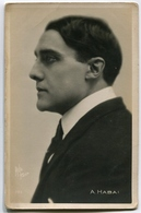 CARTOLINA ATTORE A. HABAI ACTOR - Attori