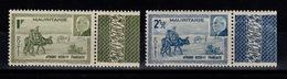 Mauritanie - YV 123 & 124 BdF N** Petain - Neufs